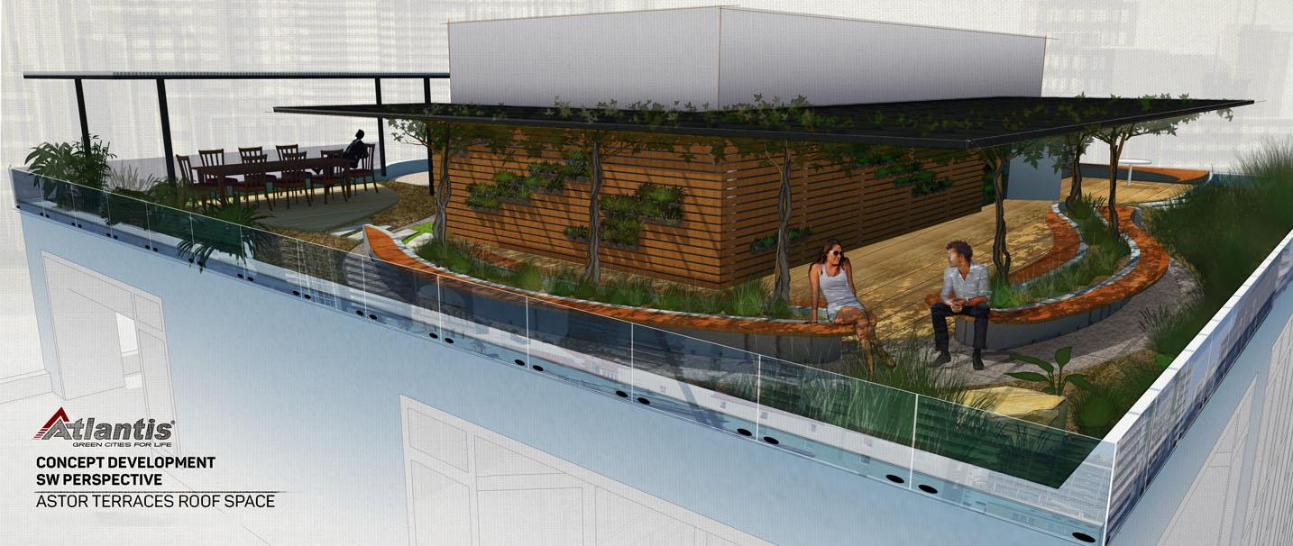 Vertical Garden Design Atlantis Aurora - vertical garden design concept