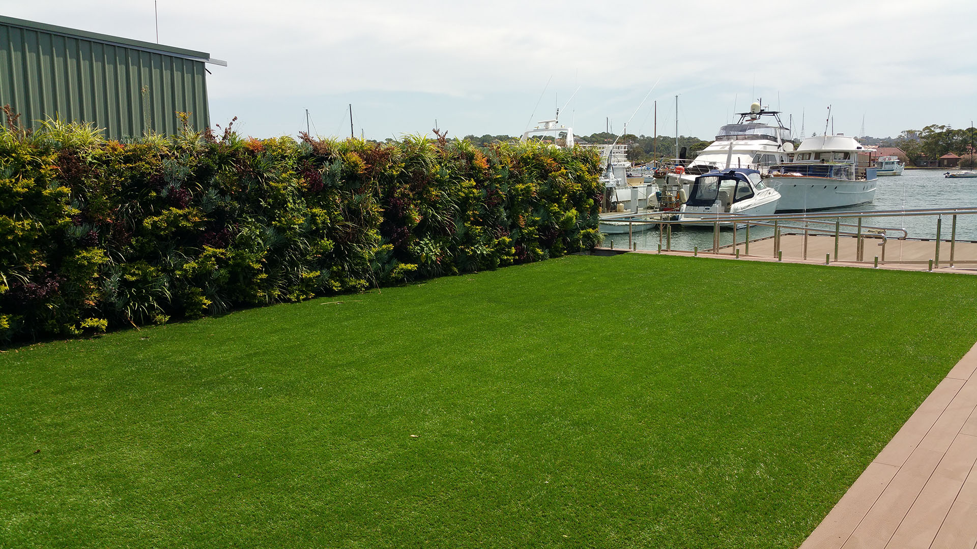 Birkenhead Point Green Wall at Apartments